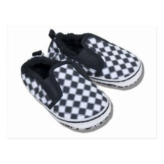 BabyRacingShoes101610 Cartes Postales