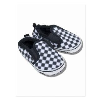 BabyRacingShoes101610 Carte Postale