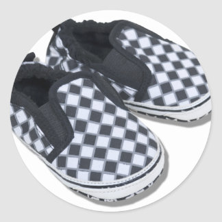BabyRacingShoes101610 Sticker Rond