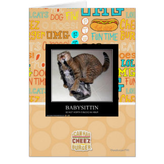 Babysittin Cartes