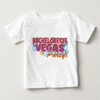 Bachelorette de Las Vegas épousant la partie de T-shirt