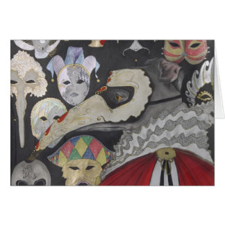 Bacio, la carte de Halloween de lévrier italien