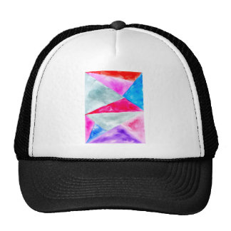 Background2 polygonal peint casquette