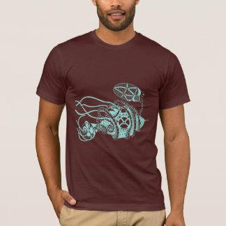 Bactériophage de Steampunk contre des bactéries T-shirt