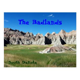 Bad-lands Carte Postale