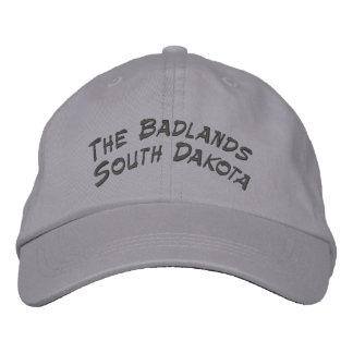 Bad-lands le Dakota du Sud Casquette Brodée