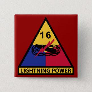 Badge 16ème Division blindée - puissance de foudre