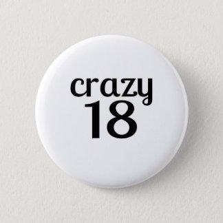 Badge 18 conceptions folles d'anniversaire
