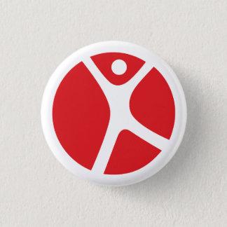 """Badge 1/4"""" bouton pour les voyageurs solos"""