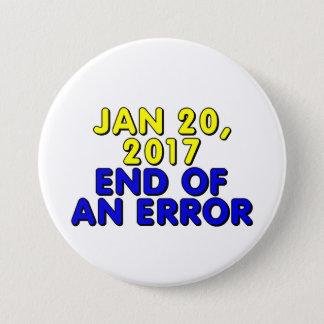 Badge 20 janvier 2017 : Fin d'une erreur