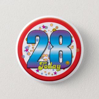 Badge 28ème Anniversaire aujourd'hui v2