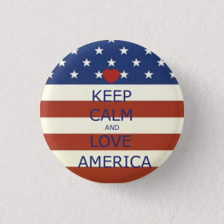 Badge 4 juillet bouton rond