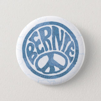 Badge 60s paix Bernie