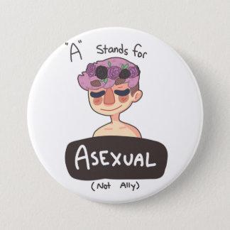 Badge A est pour le bouton asexuel