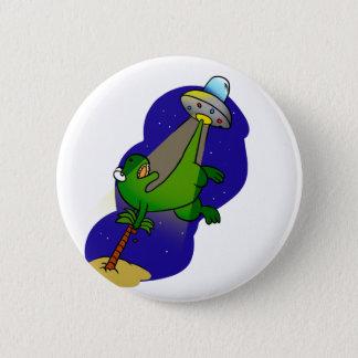 Badge Abduction de dinosaure