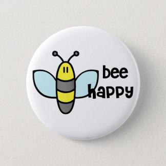 Badge Abeille heureuse