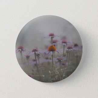 Badge Abeilles et les fleurs de cône