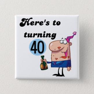 Badge Acclamations à 40 T-shirts et cadeaux