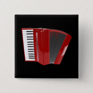 Badge Accordéon : Accordéon rouge