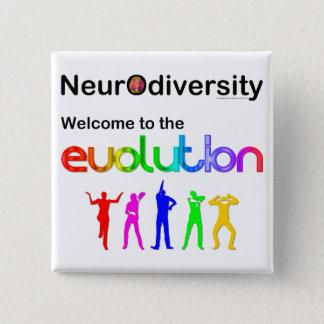 Badge Accueil de Neurodiversity à l'évolution