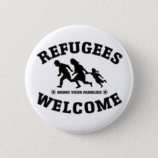 Badge Accueil de réfugiés