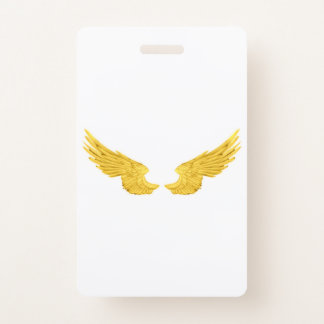 Badge Ailes d'or d'ange de Falln