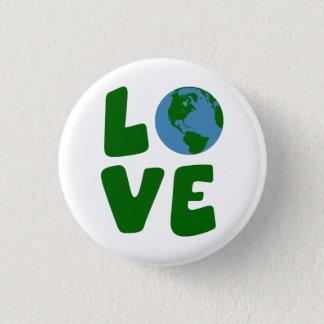Badge Aimez la planète de Terre