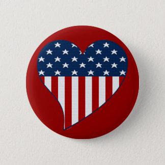 Badge Aimez les Etats-Unis