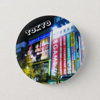 Badge Akihabara (ville électrique) à Tokyo, Japon