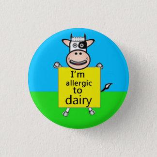 Badge Alerte d'allergie de laiterie