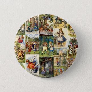 Badge Alice au pays des merveilles
