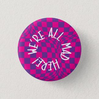 Badge Alice au pays des merveilles - petit insigne -