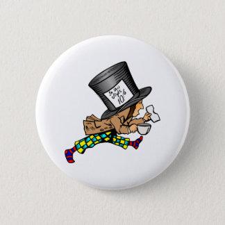 Badge Alice dans le chapelier fou du pays des merveilles