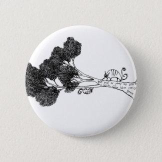 Badge Amis heureux d'arbre
