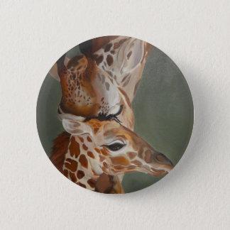 Badge Amour de girafe
