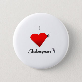 Badge Amour de Shakespeare