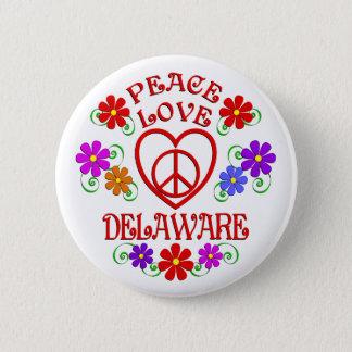 Badge Amour Delaware de paix