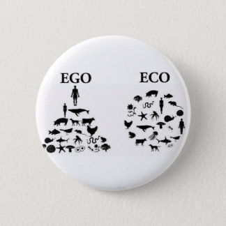 Badge Amour-propre contre le Pin d'Eco