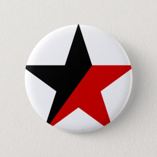 Badge Anarchisme noir et rouge d'Anarcho-Syndicalisme