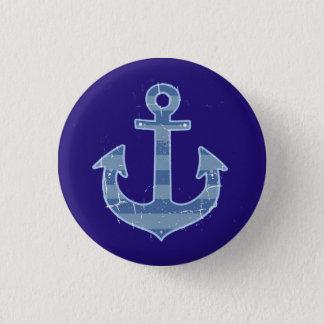 Badge ancre nautique de marine de mer