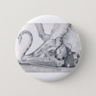 Badge Animal d'imaginaire de dragon de falaise