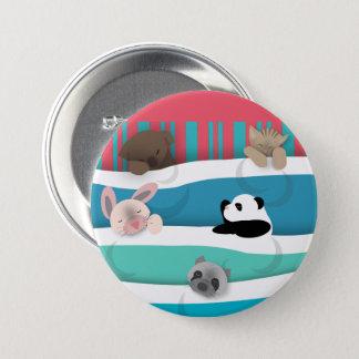 Badge Animaux somnolents de bébé