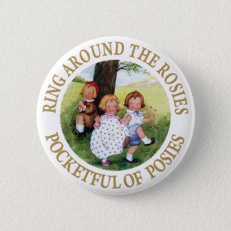 Badge Anneau autour du Rosies, pleine poche de petits