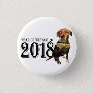 Badge Année de la double exposition du chien 2018