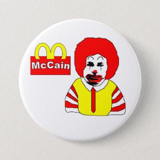Badge Anti bouton de McCain