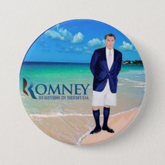 Badge Anti-Romney : Affaires en Bermudes