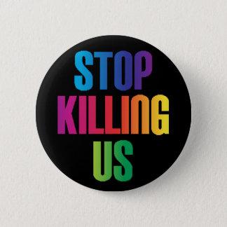 Badge Arrêt d'Anti-Violence nous tuant tirs de masse