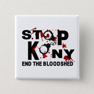 Badge Arrêtez Kony. Finissez le carnage