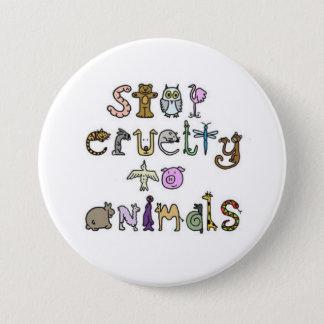 Badge arrêtez la cruauté aux animaux - customisés