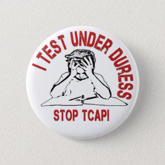 Badge Arrêtez le bouton de TCAP
